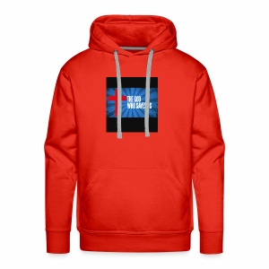 Because i am helping my church and my family - Men's Premium Hoodie