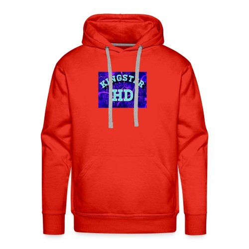 Kingsterhd poster t-shirt - Men's Premium Hoodie