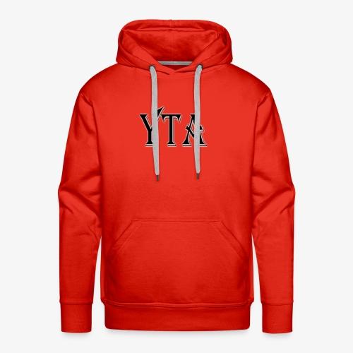YTA Bold Lettering Print - Men's Premium Hoodie