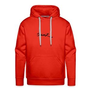 SpineZ_Black - Men's Premium Hoodie