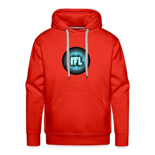 Logo Looper - Men's Premium Hoodie