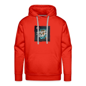 High On Chemicals With You - Men's Premium Hoodie
