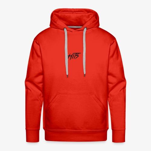 Hits Logo - Men's Premium Hoodie