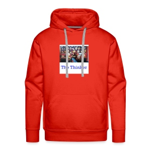 the thinker - Men's Premium Hoodie