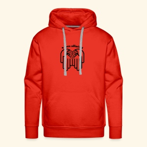 A Love Offering black - Men's Premium Hoodie