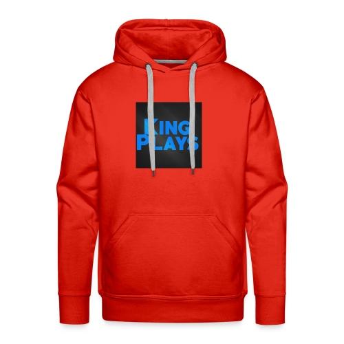 New King plays Logo Art - Men's Premium Hoodie