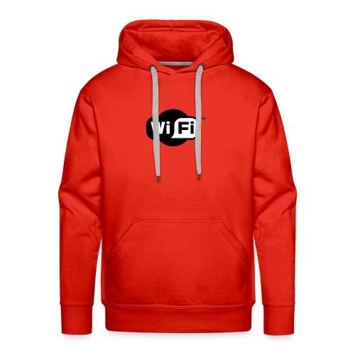 WiFi Logo svg - Men's Premium Hoodie