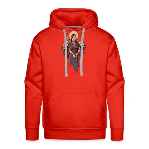 Our Lady of Cold Shoulders - Men's Premium Hoodie