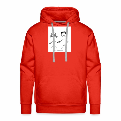 Stick people - Men's Premium Hoodie