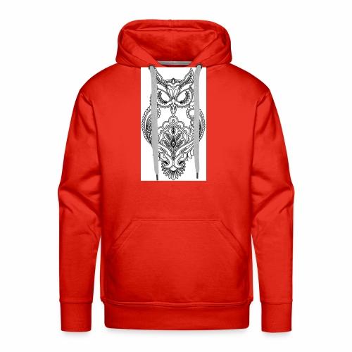 owls look - Men's Premium Hoodie