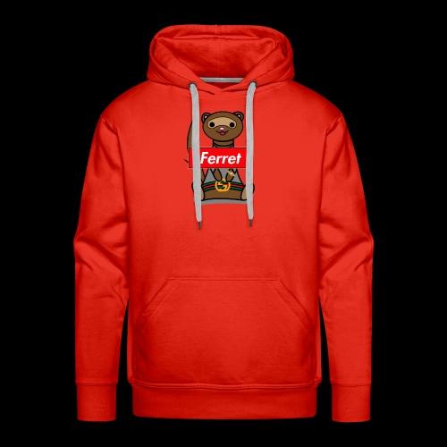 Fresh Slate Customs Gucci Ferret - Men's Premium Hoodie