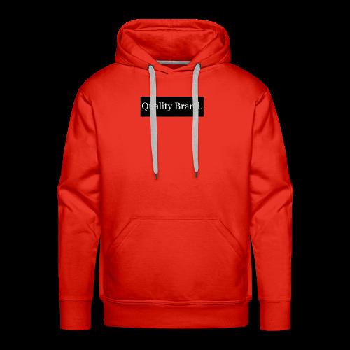 Quality Brand - White - Men's Premium Hoodie