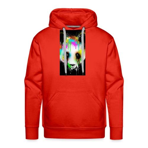 panda paint - Men's Premium Hoodie