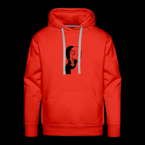 The mask of hiding emotions - Men's Premium Hoodie