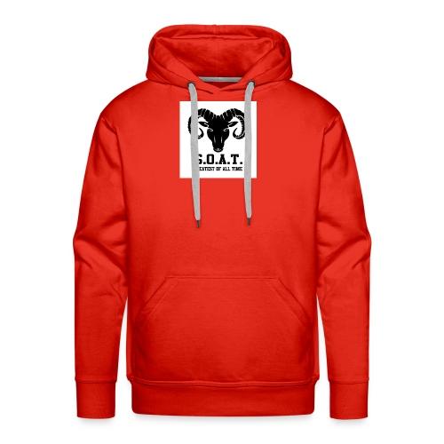 The goat 🐐 - Men's Premium Hoodie