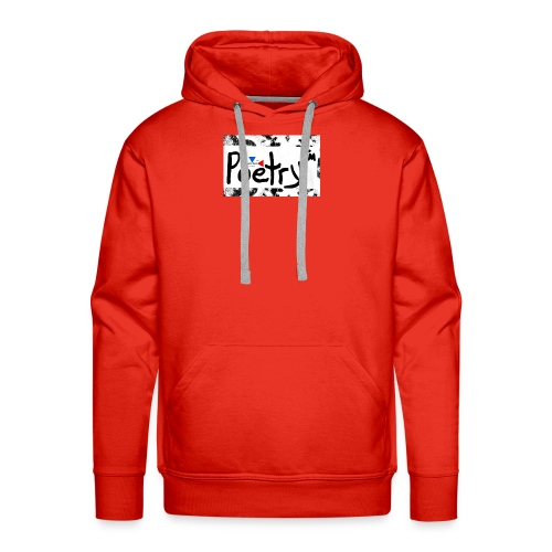 Getto Read Poetry - Men's Premium Hoodie