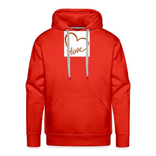 love1 - Men's Premium Hoodie