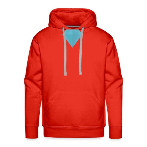 long sleeve Diamond shirt - Men's Premium Hoodie