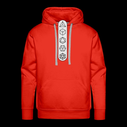 platonic-white-bg - Men's Premium Hoodie