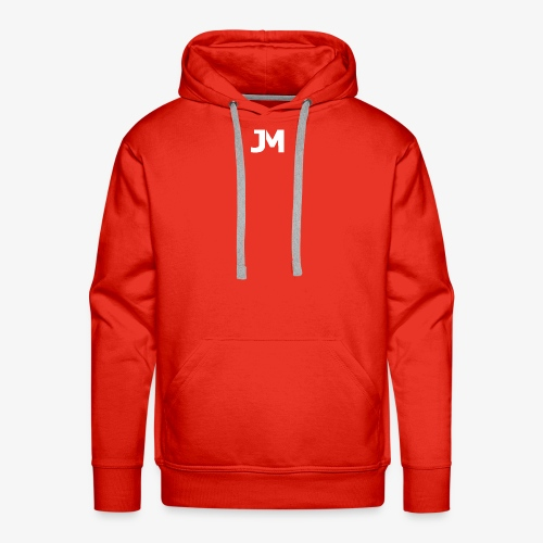 JM Logo - Men's Premium Hoodie