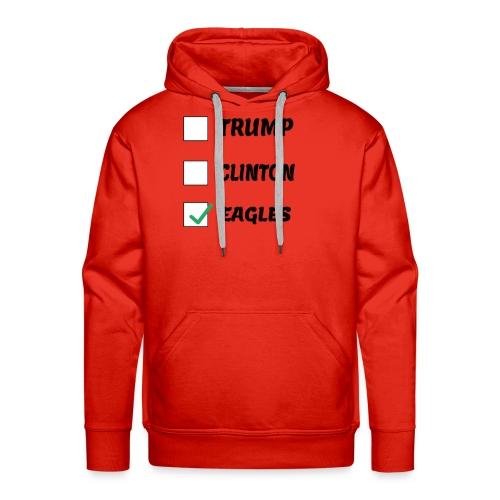 Humorous Voting eagles shirt - Men's Premium Hoodie