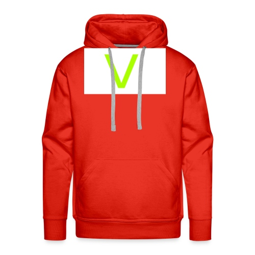 V letter for vast - Men's Premium Hoodie