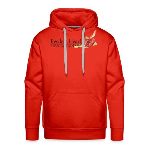 Restless Hearts Foundation Logo - Men's Premium Hoodie