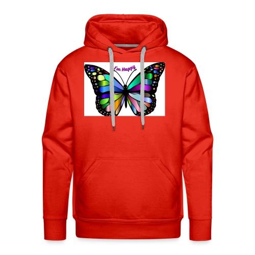 Happy Butterfly - Men's Premium Hoodie