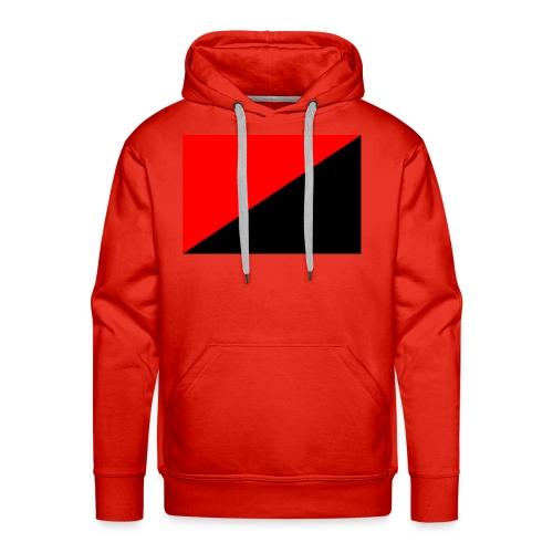 red and black - Men's Premium Hoodie