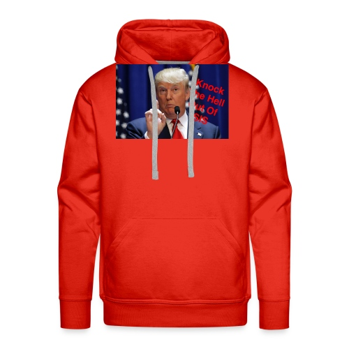 Knock the hell out of isis - Men's Premium Hoodie