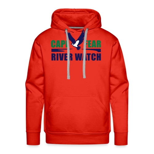 Cape Fear River Watch Logo - Men's Premium Hoodie