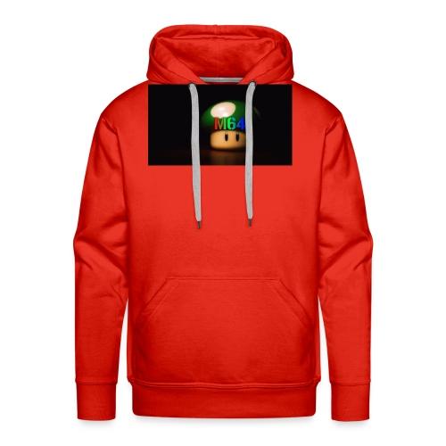 mushroom design - Men's Premium Hoodie