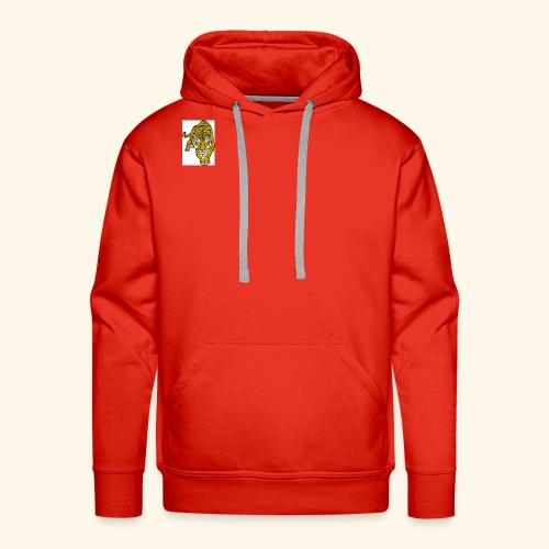 **NEW** Red White AND BLACK Tiger Merch - Men's Premium Hoodie