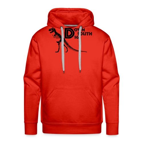 T-Rex Logo - Men's Premium Hoodie