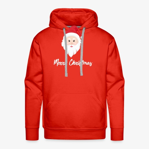 Merry Christmas Santa Claus - Men's Premium Hoodie