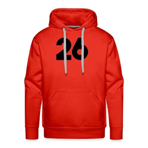 Main 26 logo - Men's Premium Hoodie