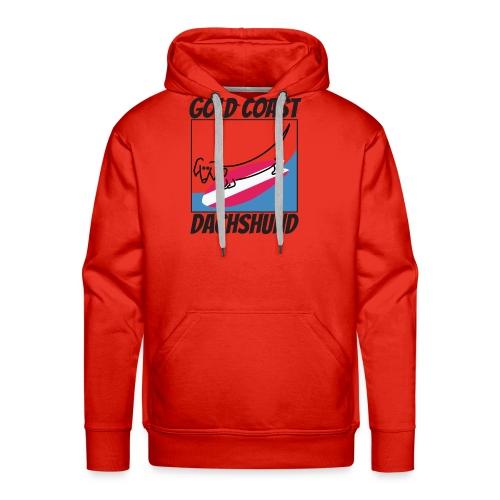 Gold Coast Dachshund - Men's Premium Hoodie