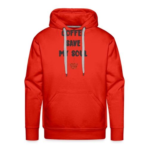 coffee - Men's Premium Hoodie