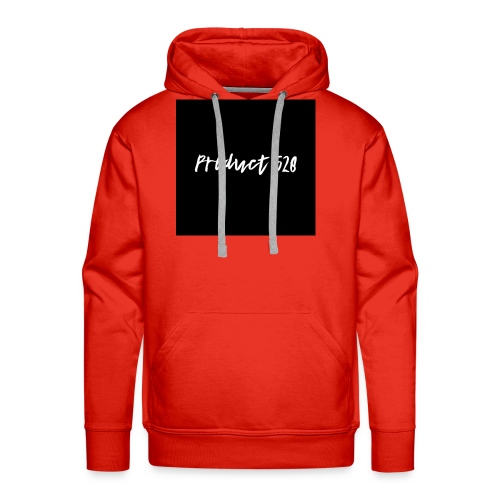 Product 528- black logo - Men's Premium Hoodie