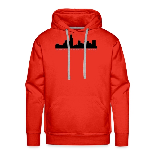City Box Logo - Men's Premium Hoodie