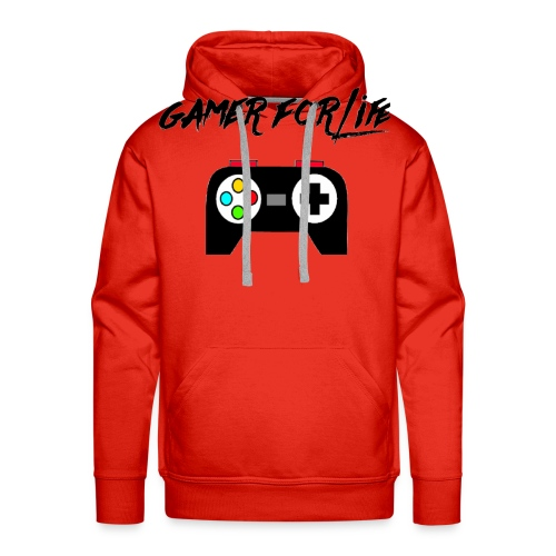 gamer for life1 - Men's Premium Hoodie
