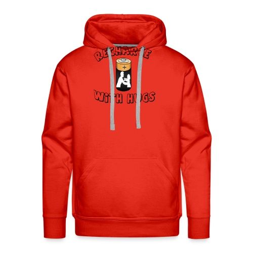 Recharge with hugs - Men's Premium Hoodie