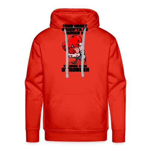 Fighting Heart - Men's Premium Hoodie