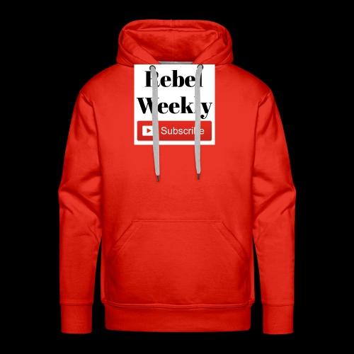 Rebel Weekly - Men's Premium Hoodie
