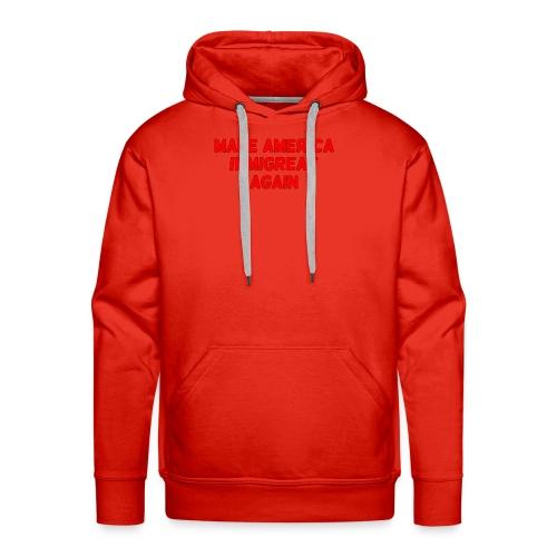 ImmiGREAT - Red - Men's Premium Hoodie
