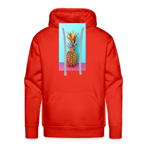 Colorful pineapple - Men's Premium Hoodie