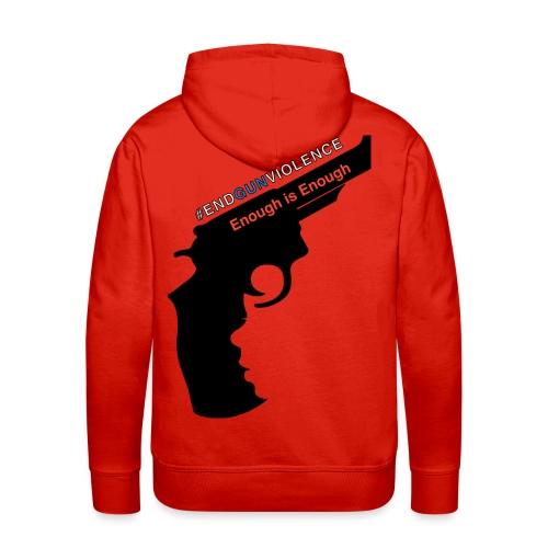 End Gun Violence - Men's Premium Hoodie