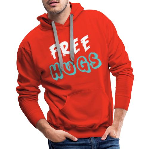 FREE + HUGS - Men's Premium Hoodie