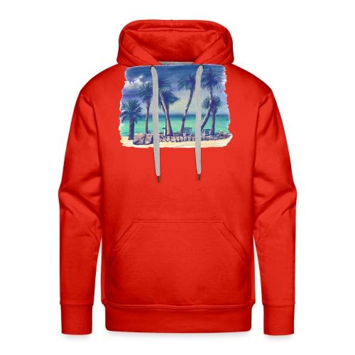 Oasis beach - Men's Premium Hoodie