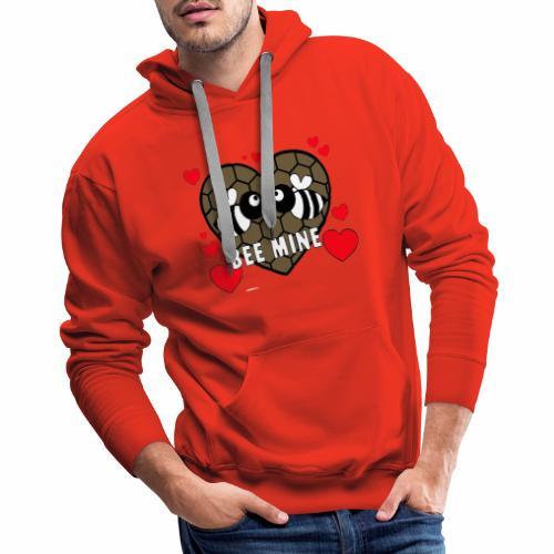 valentines day bee mine 4 - Men's Premium Hoodie